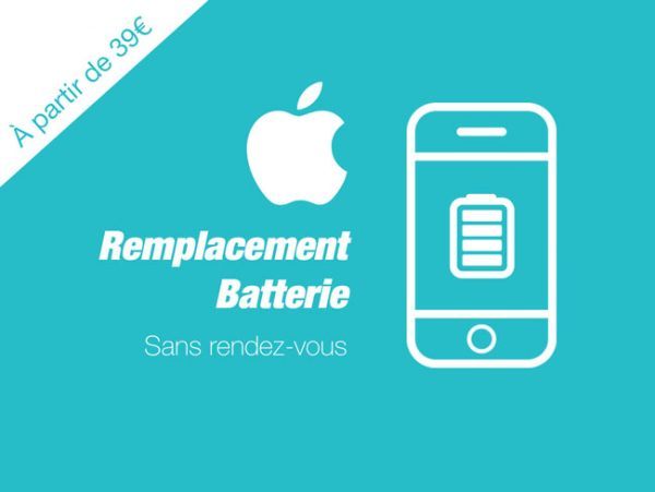 Remplacement de batterie Iphone